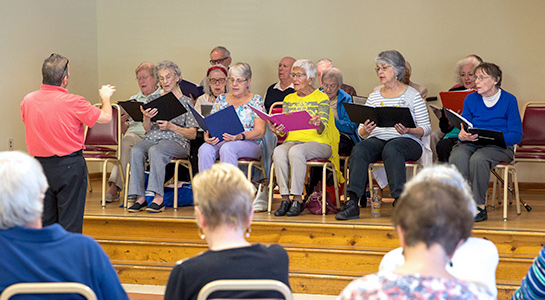 Concert at the Kennett Area Senior Center